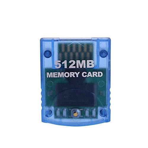 Ruitroliker 512MB Memory Card Speicherkarte für Wii NGC GameCube Konsole