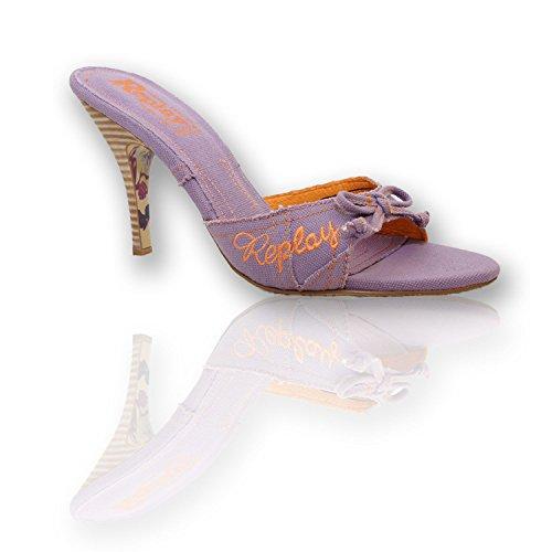 Replay VISSIA RP614 Pumps - High Heels - Damen Schuhe - Gr. 36-41, Farbe/Color:Flieder;Größe/Size:39
