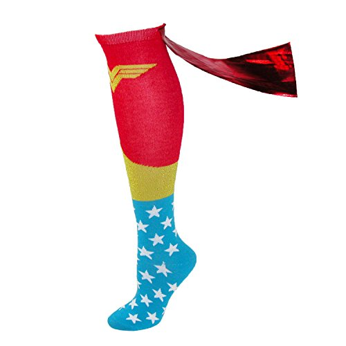 CID Wonder Woman - Calcetines para hombre, Hombre,