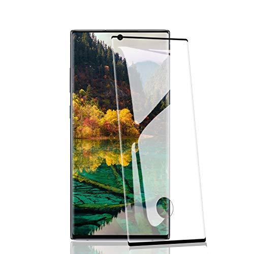 RIIMUHIR 2 Pièces de Verre Trempé pour Samsung Galaxy Note 10 Plus, Dureté 9H, sans Bulles, HD Transparent, Haute Sensibilité, Anti-Huile