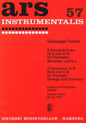 2 Konzerte Für Trompete, Streicher und Bc