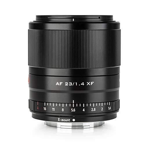 VILTROX 23mm f1.4 XF Autofokus Prime Objektiv APS-C Kompaktobjektiv mit großer Blende für Fuji X Mount Kamera X-T3 X-H1 X20 T30 X-T20 X-T100 X-Pro2 X-Pro3