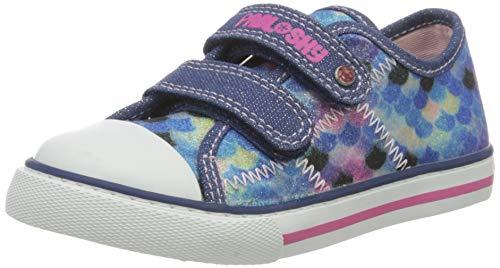 Pablosky 962721, Zapatillas-Niña Niñas, Azul, 31
