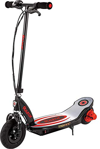 Razor Power Core E100 Electric Scooter - Aluminum Deck - Red