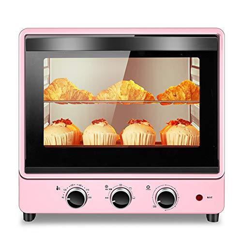 Toaster oven QYJH - Mini Horno de sobremesa - Capacidad 30L - 1500W - El Revestimiento sin Aceite es fácil de Limpiar - Aplique de Ahorro de energía: Bandeja para Hornear y Parrilla