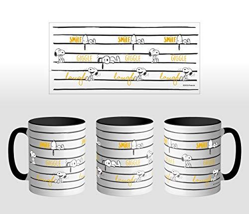ERT GROUP PNMGSNOOPY006 Tazas de café y vasos, cerámica
