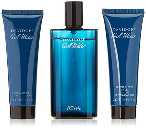 Davidoff Gift set cool water men edt 125 ml + sg 75 ml + as balm 75 m