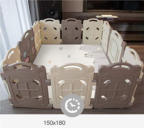 KAPR Bébé clôture environnementale HDPE Matériel Intérieur Baby Safety Clôture Clôture Jouet Portatif