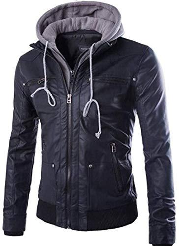 False Leather Jacket Men's