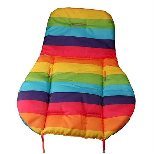 CHSDN Soft Cushion Seat Cushion Waterproof Winter Warm Buttocks Seat Pad Home Bedroom Lumbar Back Support Baby Kids Stroller Cushion
