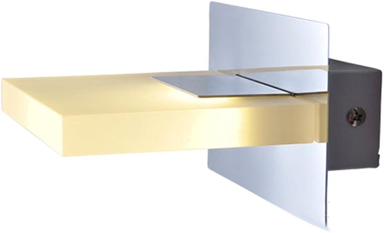 &Spiegelleuchte Spiegel Front Light Moderne LED Hotel Badezimmer Badezimmer Edelstahl Lampen Make-up Beleuchtung