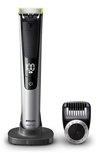 Philips OneBlade Pro Face QP6520/30, mit 1 Präzisionstrimmer, 14 Längeneinstellungen