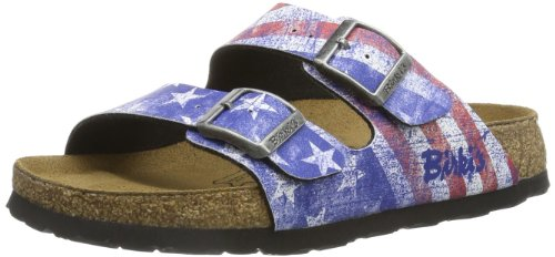 Santiago Birko Flor Mule pour Hommes Flag Stars and Stripes
