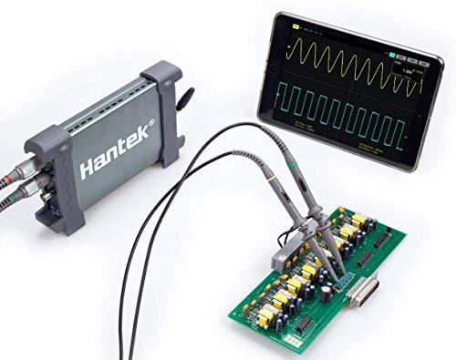 Hantek Virtuelles WiFi-Oszilloskop, 2 Kanäle, 70 MHz, 250 MSa/s, unterstützt iPhone-iPad/Android/PC