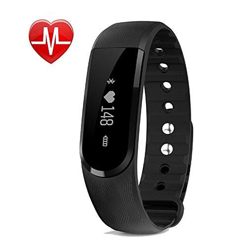 Fitness Tracker mit Herzfrequenz,Willful SW322 Fitness Armband Wasserdicht Aktivitätstracker Schrittzähler Armband mit Pulsmesser Schlaftracker Kalorienzähler für iPhone IOS Android Damen Herren