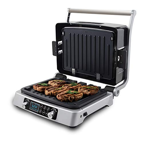 small NUWAVE JUBILEE 1800W double grill, built-in digital temperature sensor, non-stick, removable …