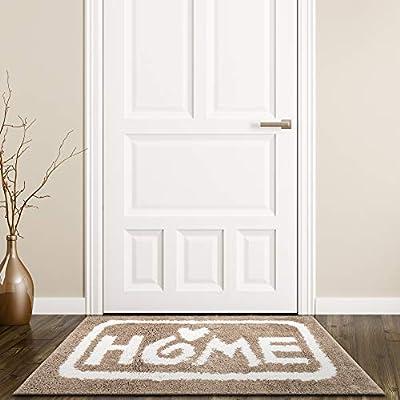 "Yummier Life Heavy Duty Door Mat- 36"" x 24"" Super Absorbent Bathroom Rugs- Welcome Mats for Front Door- Floor, Kitchen, Indoor, Outdoor Mats and Rugs, Strongly Water Absorption/ Non-Slip/ Washable"