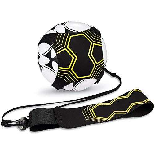 LESNIC Football Kick Trainer, Solo Close Control Football Soccer Training...