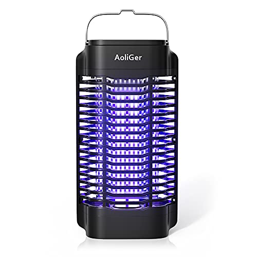 Bug Zapper for Outdoor and Indoor,Powerful Electric Mosquito Zapper Insect Killer,Insect Fly Trap Mosquito Trap for Backyard, Garden, Patio, Home