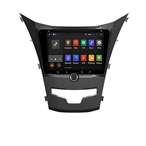 KCSAC Android 10.0 Octa Core Car Radio Stereo FIT FOR SsangYong KORANDO / C210 / SsangYong ACTYON 2013-2020 Player Multimedia de navegación de GPS de Coche (Color : Android 9.0PX30 2 16)