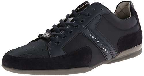 Hugo Boss Men's Spacit Fashion Sneaker,Navy,7 M US