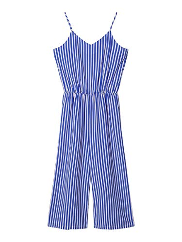 NAME IT Limited by Girl Jumpsuit Gestreifter 152Dazzling Blue