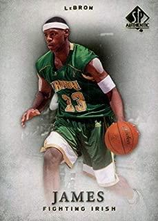 lebron james high school card