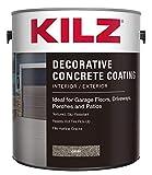 Best Concrete Stains - KILZ L378701 Interior/Exterior Slip-Resistant Decorative Concrete Paint, 1 Review
