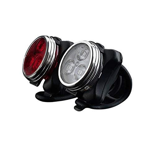 Tenglang Fahrradlicht Set LED wiederaufladbare Fahrradlichter Fahrradlichter Fahrradlichter vorne und hinten USB wiederaufladbar Super Bright Waterproof