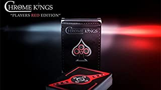 chrome king throwing cards