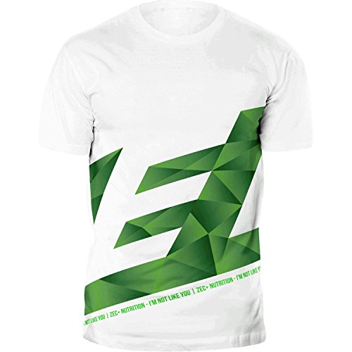 ZEC+ Herren Shirt Athletic Polygon in Weiß Größe XL