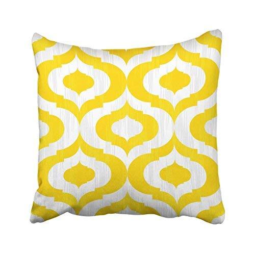 GFGKKGJFD313 Funda de almohada para decoración del hogar, 45,7 x 45,7 cm, diseño inspirado en Marruecos, fundas de cojín decorativas cuadradas para sofá, accesorios para el hogar, regalos