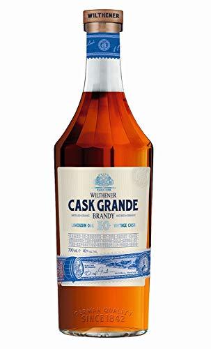 Wilthener Cask Grande Brandy, X.O.-Qualität, eine Hommage an die Wilthener Erfolgsgeschichte, besonders genussvoller Weinbrand 40% vol.(1 x 0.7 l)