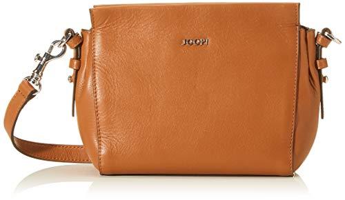 Joop! Damen Capitale Rosalia Shoulderbag Shz Schultertasche, Braun (Cognac), 16.5x8.5x21 cm