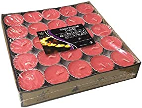 Tea light Candles 50Pcs, Red