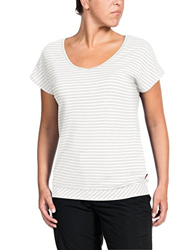 VAUDE Women's skomer II T-Shirt Medium Blanc