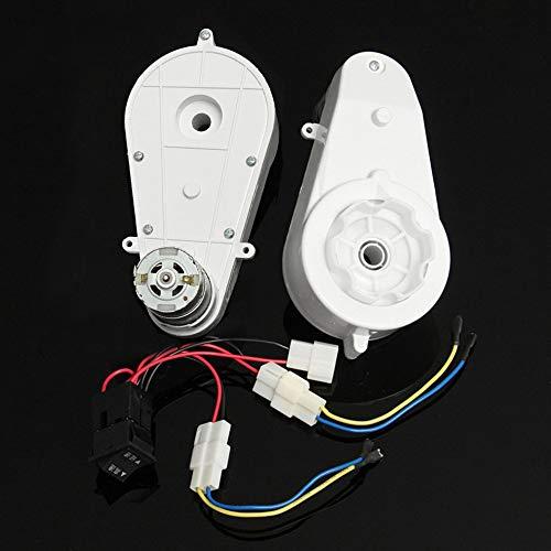 RS390//550 Motor Eléctrico Caja de engranajes para niños Coche para Andar Partes De Repuesto De Bicicleta