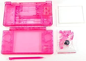 For Nintendo DSi NDSI NDSi Full Housing Case Cover Shell with Buttons Replacement Parts - Clear Red