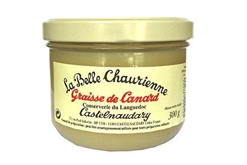 La Belle Chaurienne Graisse de Canard - Fett von der Ente - 300 grams