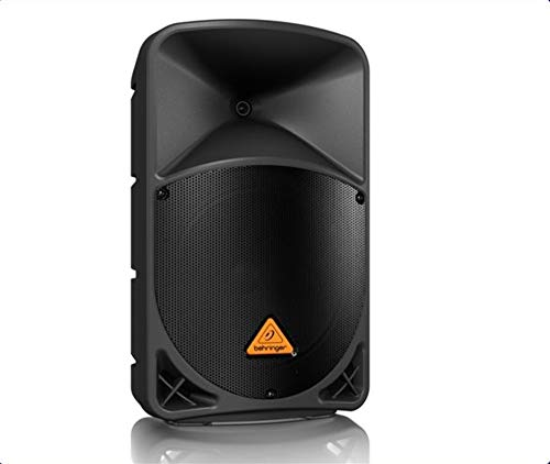Behringer B112MP3 Eurolive Active PA Lautsprechersystem mit MP3 Player/Wireless Option und integriertem Mixer (1000 Watt, 2 Way, 12 inch)