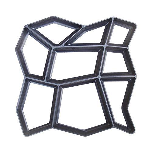 ZSIF Cement Mold, kunststof materiaal, eenvoudige vloer bestrating tegel schimmel ontwerp Cement doe-het-zelf beton bestrating schimmel tuin Villa Pavement Maker
