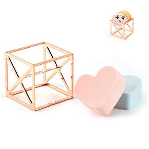 Maquillage éponge Porte-Etendoir Support Maquillage Oeuf Éponges Support Présentoir Outils De Maquillage Organisateur Case - Cube