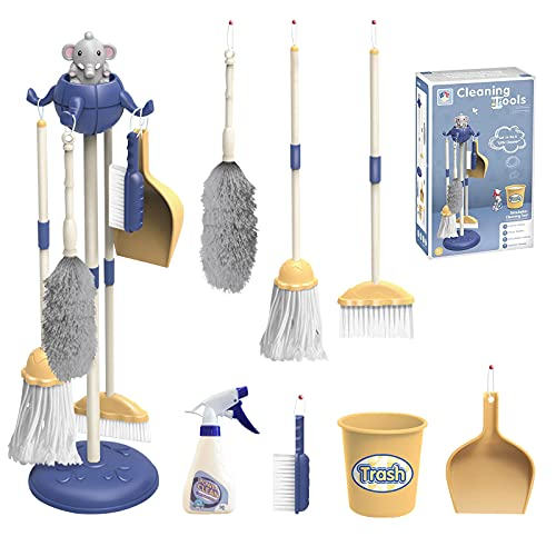 THYG Kids Cleaning Set for Toddlers 8 Pcs,...