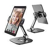 AboveTEK Soporte de Aluminio para Tableta , Puerto de Mesa Ajustable 360 para iPad, Adecuado...