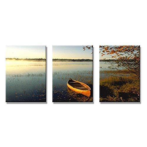 WLEZY HD-print canvas schilderij 3 stuks muurkunst beeld geschenk canvas druk schilderen mooie zee boot poster afbeeldingen huis decoratie