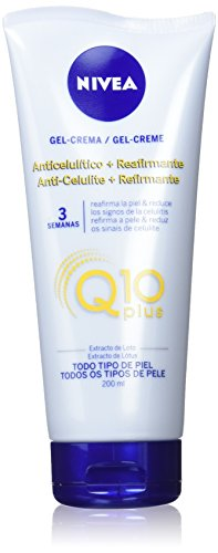 NIVEA Q10 Plus Anti-Cellulite-Creme + Straffungsmittel, gegen Cellulite, Körperpflege, 1er Pack (1 x 200 ml)