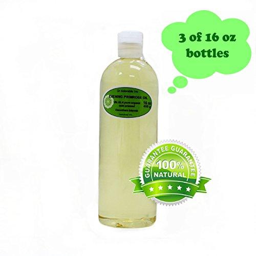 Evening Primrose Oil 9% GLA Health Natural Care 48 Oz/3 Pint