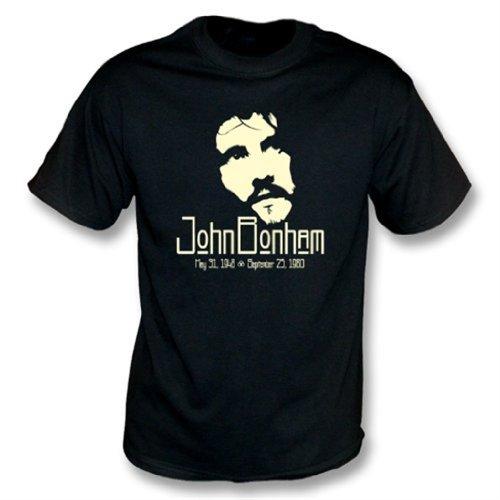 TshirtGrill La Camiseta de John Bonham Tribute X-Grande, colorea Negro