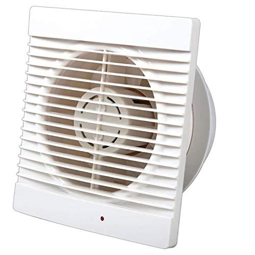 STRAW Extractor silencioso Ventilador de Escape Hogar Hotel Ventanas de Vidrio Colgar en la Pared Cocina Baño Inodoro Ventilación Ventilador de Escape