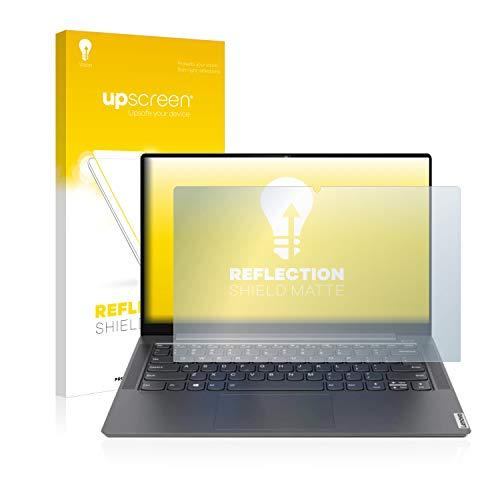 upscreen Entspiegelungs-Schutzfolie kompatibel mit Lenovo Yoga S740 14'' – Anti-Reflex Bildschirmschutz-Folie Matt